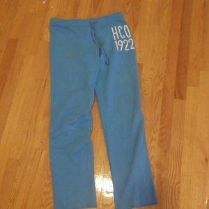 Hollister fleece jogger pants